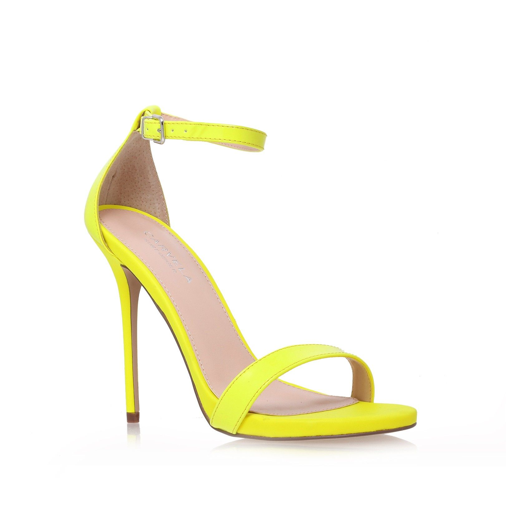 glacier, yellow shoe by carvela kurt geiger - women shoes sandals ...