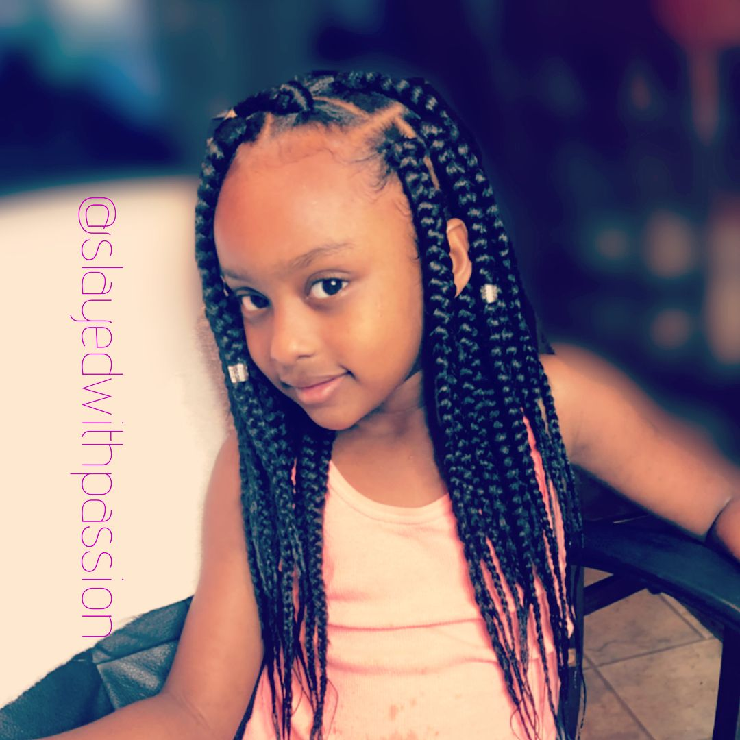 Image May Contain 1 Person Closeup Black Kids Hairstyles Hair Styles Kids Hairstyles Girls