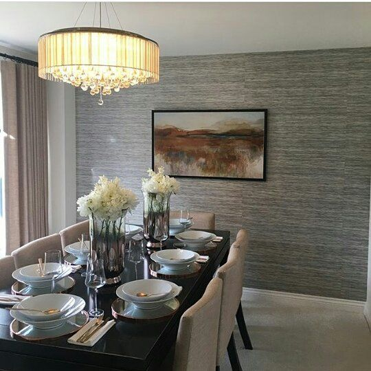 Love this show home dining room credit ab homex house housetohome decor neutrals neutralhome showhome homestyle bellway barrett also rh pinterest