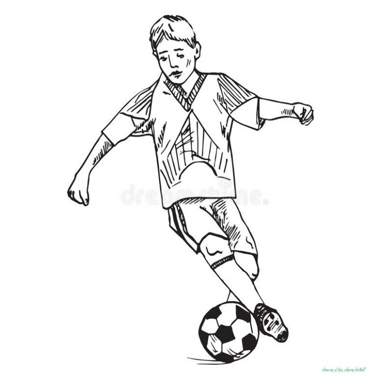 Drawing Of Boy Playing Football Will Be A Thing Of The Past And Heres Why Drawing Of Boy Playing Football Https In 2020 Soccer Drawing Playing Football Boys Playing