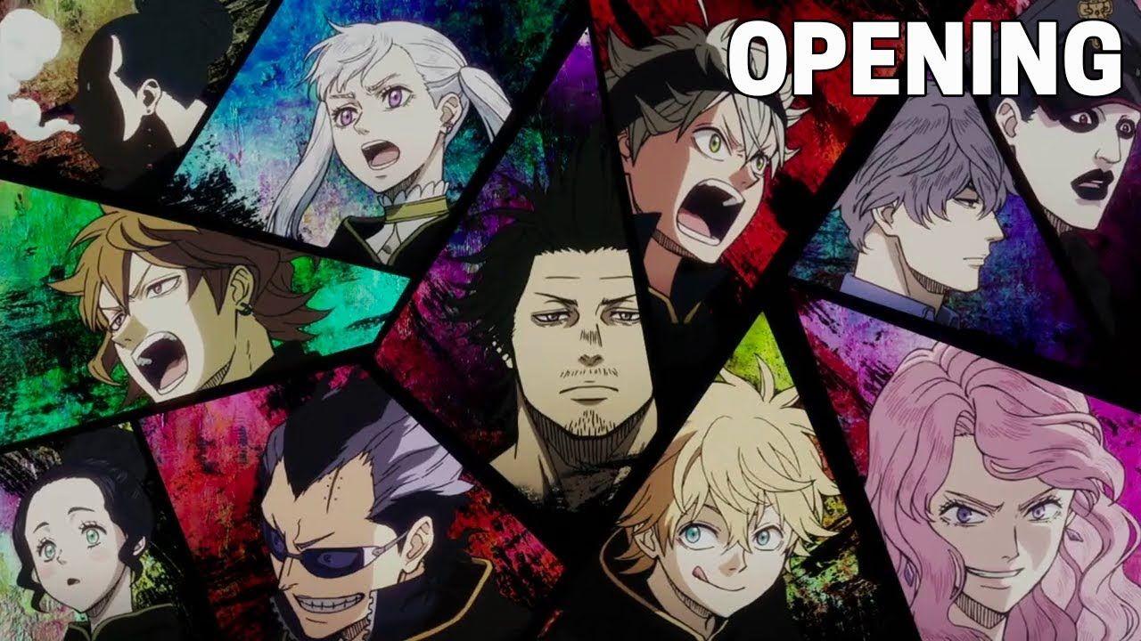 Black Clover Opening 2 Hd Black Clover Anime Black Bull Anime Wallpaper