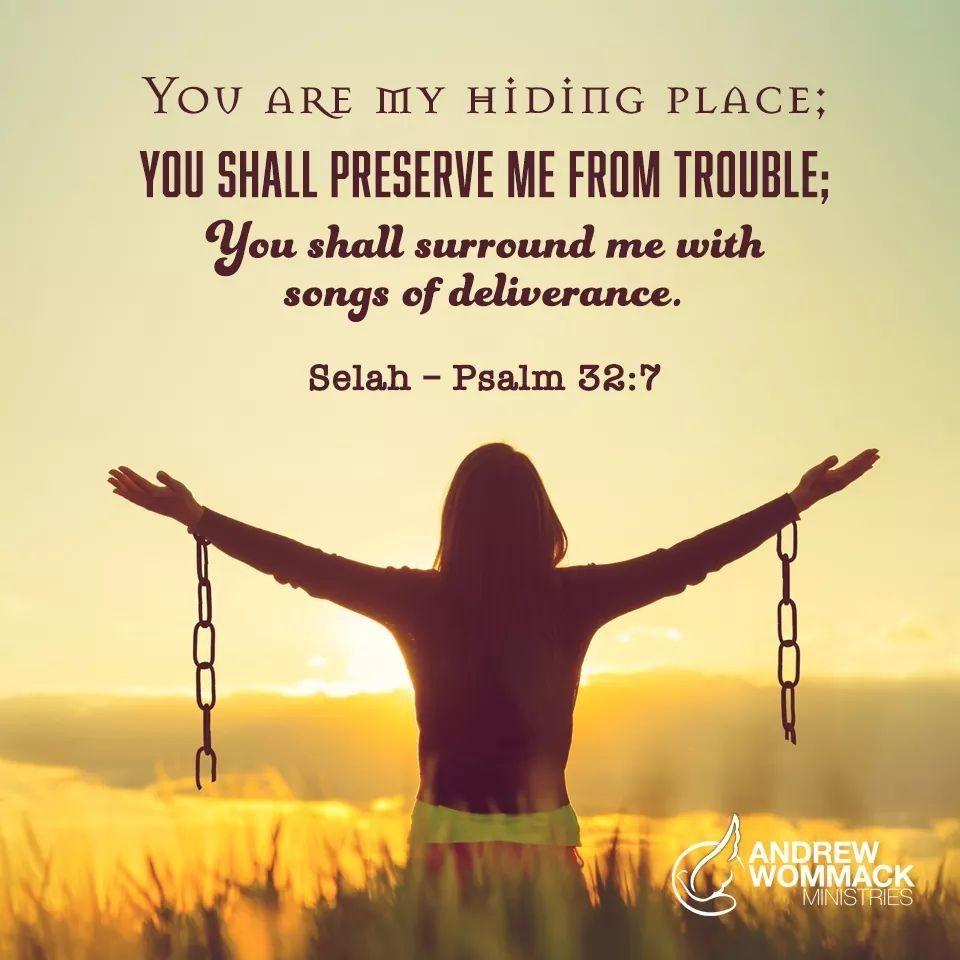 You Are My Hiding Place You Shall Preserve Me From Trouble You