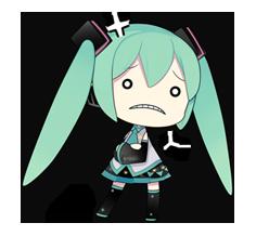 80 Hatsune Miku Emoticons Free Download Hatsune Miku Miku Hatsune