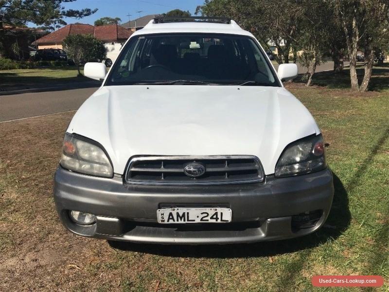Car for Sale 2002 Subaru Outback NO RESERVE!!!