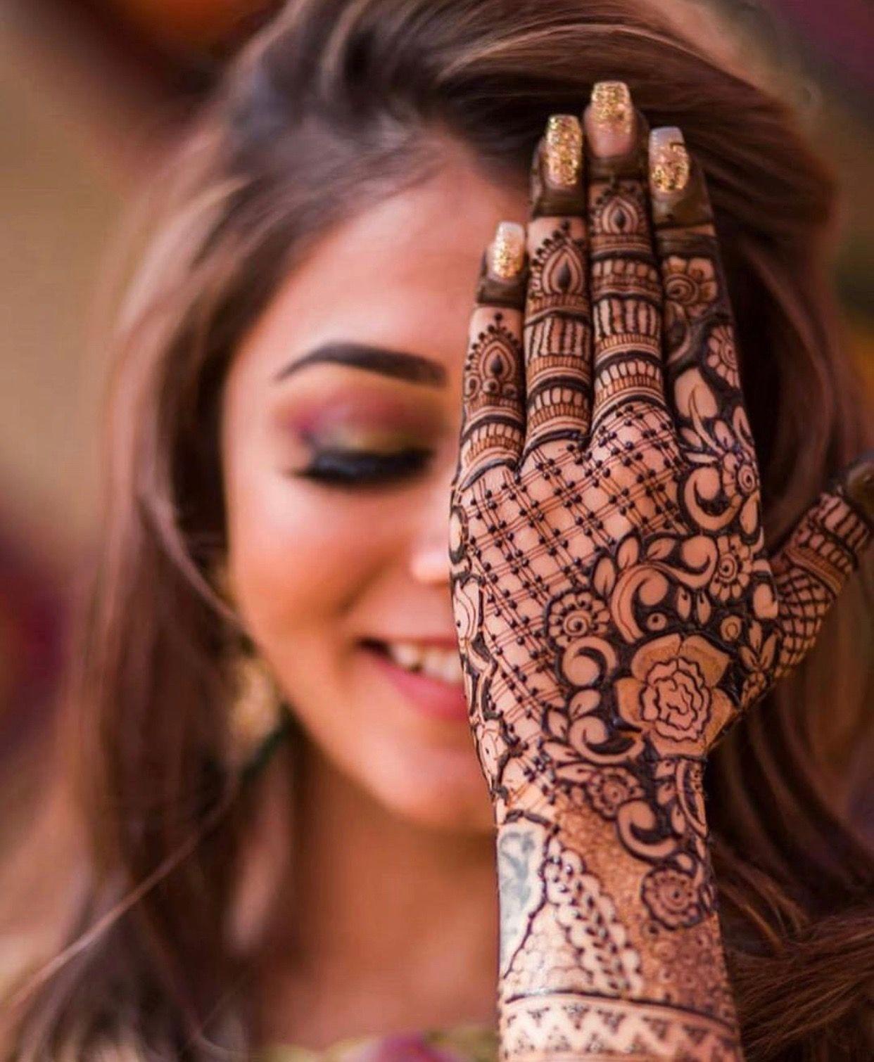 Pinterest: @pawank90 | Mehendi, Bridal henna designs, Engagement mehndi  designs