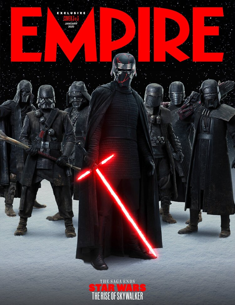 Empire Reveals Cool Set Of Star Wars The Rise Of Skywalker Magazine Covers Star Wars Comics Star Wars Books Star Wars Images