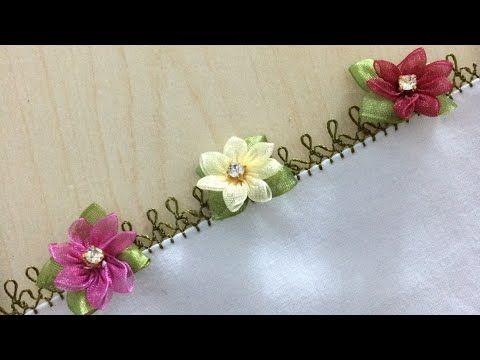 Kurdele Oyası Kardelen Çiçeği Modeli Yapımı Videolu Anlatımlı