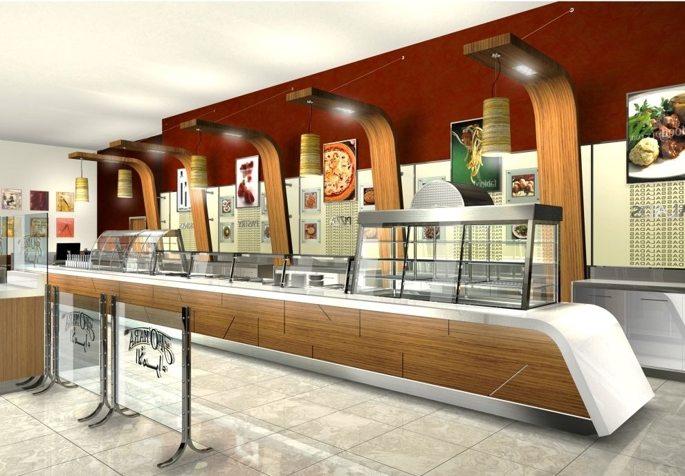 Self service restaurant in saudi arabia retail design - Restaurantes de diseno ...