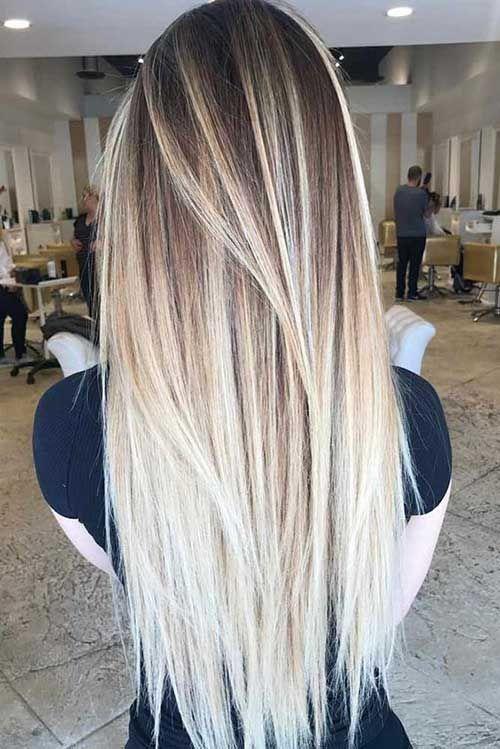 Erstaunlich Lange Gerade Frisuren Fur Frauen Haare Hair Styles