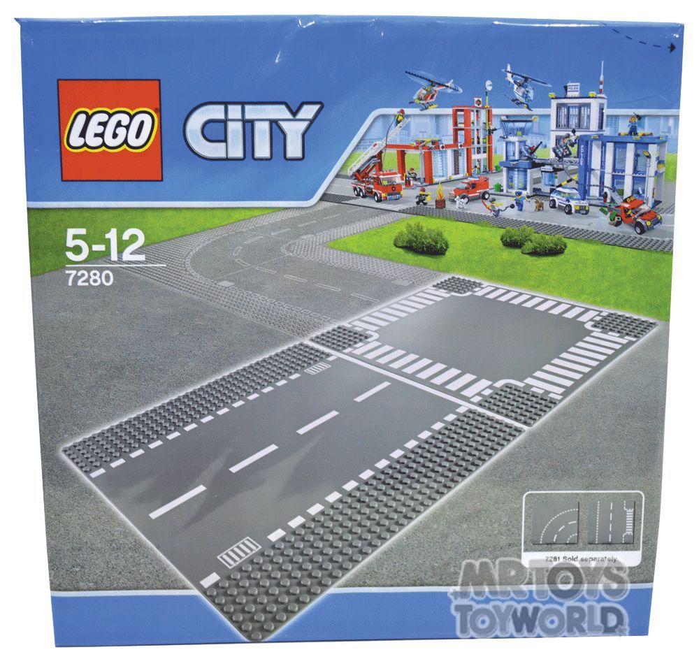 Lego City 7280 Straight /& Crossroad