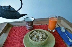 Byuenos Días! Desayuno de Campeona. La receta y sus razones en http://www.pasaloverde.cl/wp1/2013/01/11/buenos-dias-desayuno-de-campeonas/