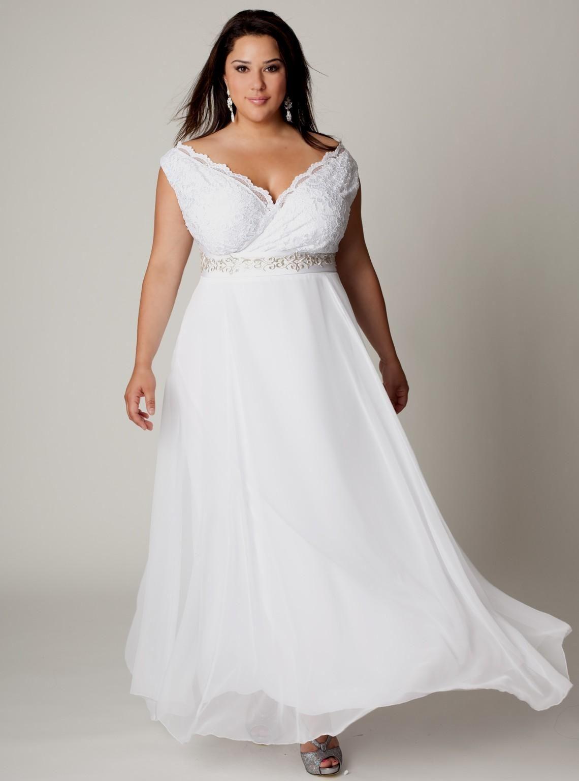 White Beach Dresses Plus Size Bridesmaid Dresses Plus Size Popular Wedding Dresses Trendy Plus Size Dresses [ 1536 x 1140 Pixel ]