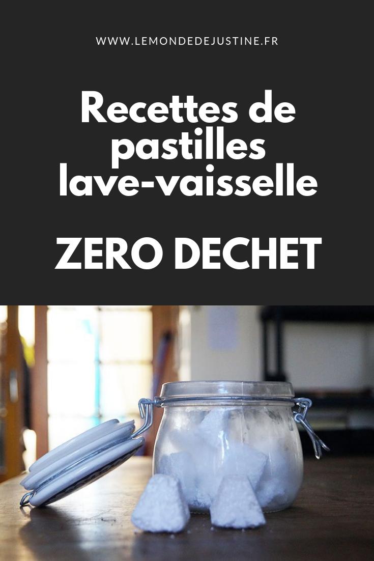 Fabriquer Nettoyant Lave Vaisselle diy: fabriquer ses pastilles lave-vaisselle maison, la