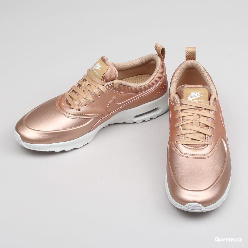 f9d36e5c41 Nike W Air Max Thea SE mtlc red bronze za 3 490 Kč  Nízké dámské ...