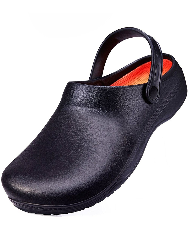 1a490d7d7f5 Slip Resistant Chef Shoes For Men Non Slip Work Clogs For Kitchen ...