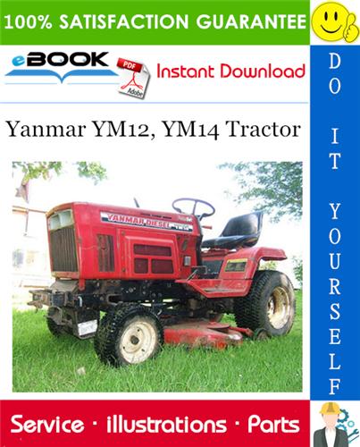 Yanmar Ym12 Ym14 Tractor Parts Manual Tractors Tractor Parts Manual
