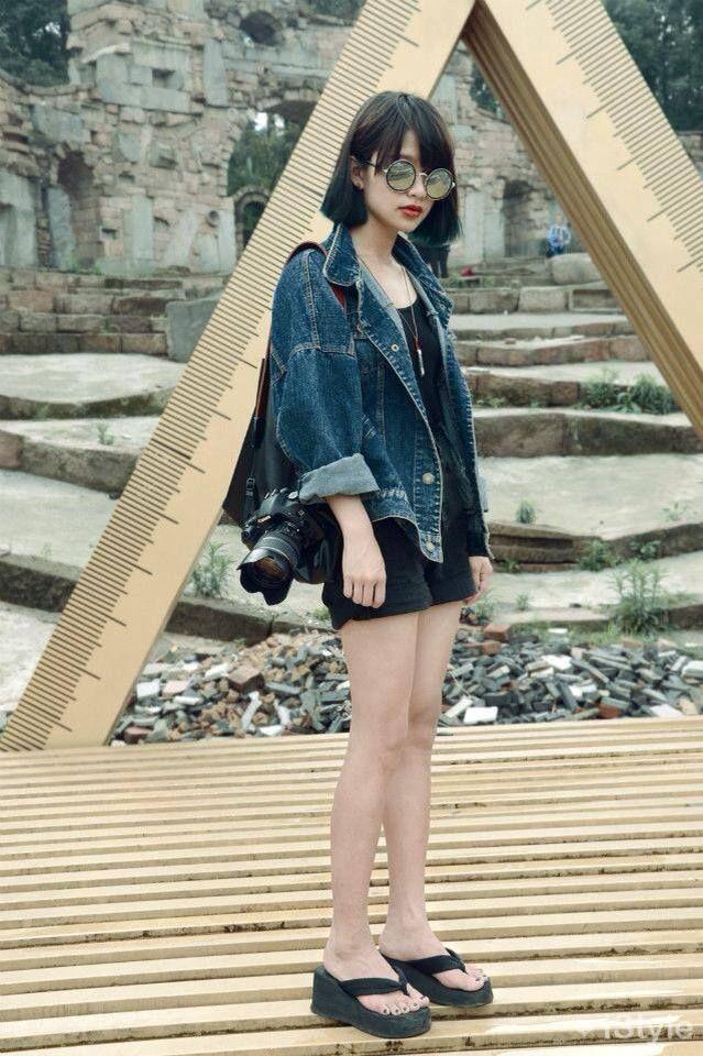 Short Hair Korean Street Fashion Korean Fashion Trends Asian Street Style