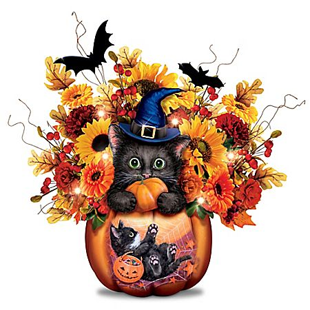 Scaredy Cat Table Centerpiece Products - halloween centerpiece