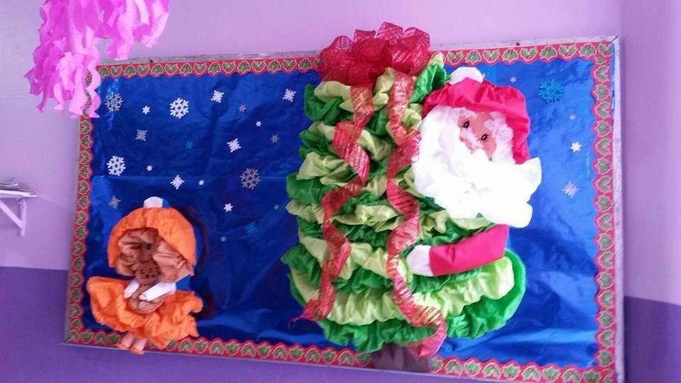 Peri dico mural de diciembre peri dicos murales - Mural navidad infantil ...