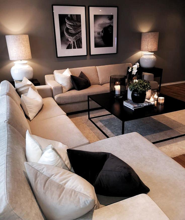 🖤🖤🖤. . . . . . . . interior123 interio&; 🖤🖤🖤. . . . . . . . interior123 interio&; Justwhatabout justwhatabout Interior Design 🖤🖤🖤. . . .[…]  #Interio #interior123 #small living room interieur