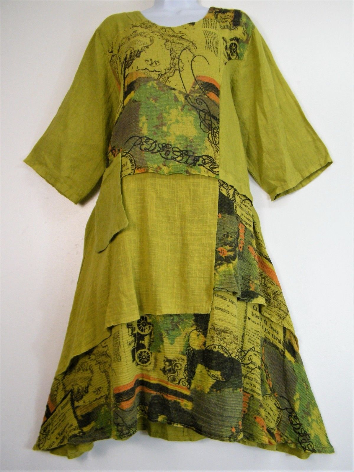 f017c4faf7 Beautiful New Arrival LAGENLOOK ITALIAN Summer Dress in several colours. IS  ONE SIZE TO FIT