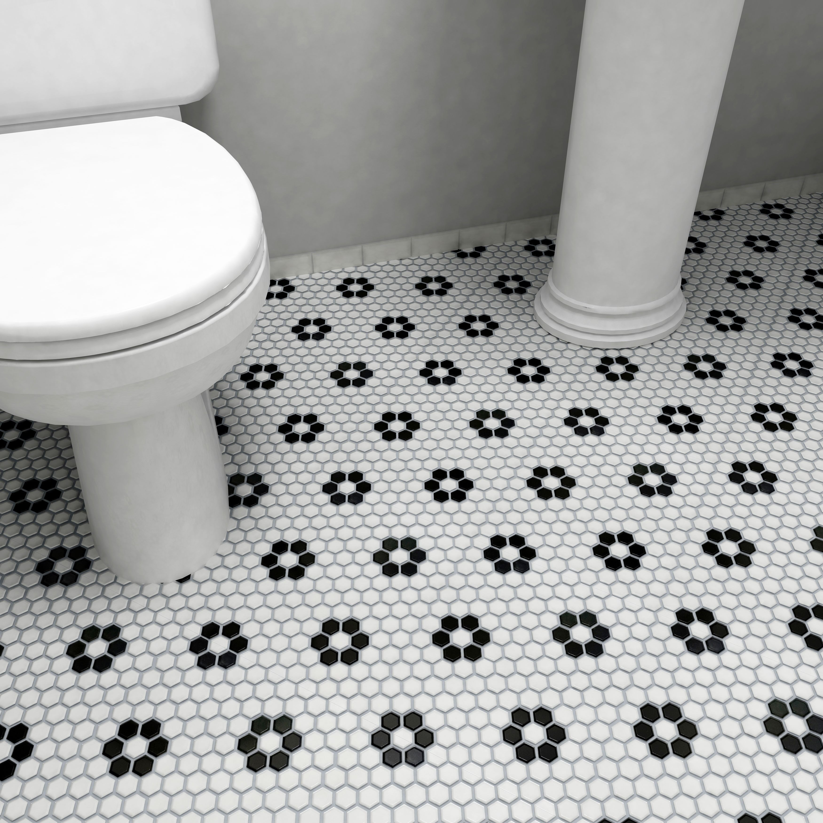 Reminiscent of victorian era tile mosaics this somertile tile set reminiscent of victorian era tile mosaics this somertile tile set features a smooth dailygadgetfo Images