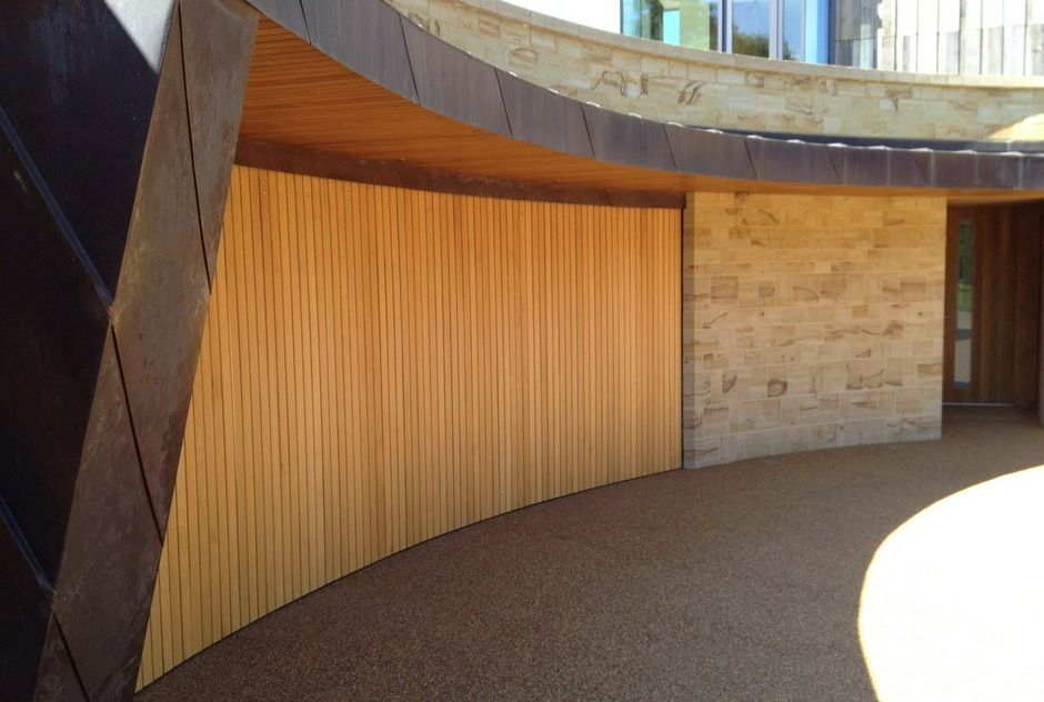 modern style rundum meir sliding garage doors systems with sliding garage doors 02. Black Bedroom Furniture Sets. Home Design Ideas