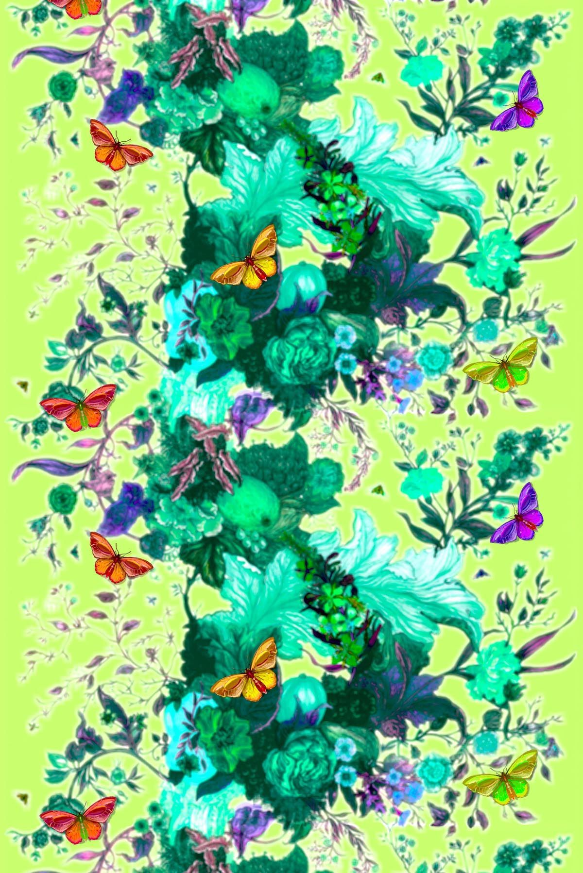 Timorous Beasties Fabric Butterfly Blurr...I adore
