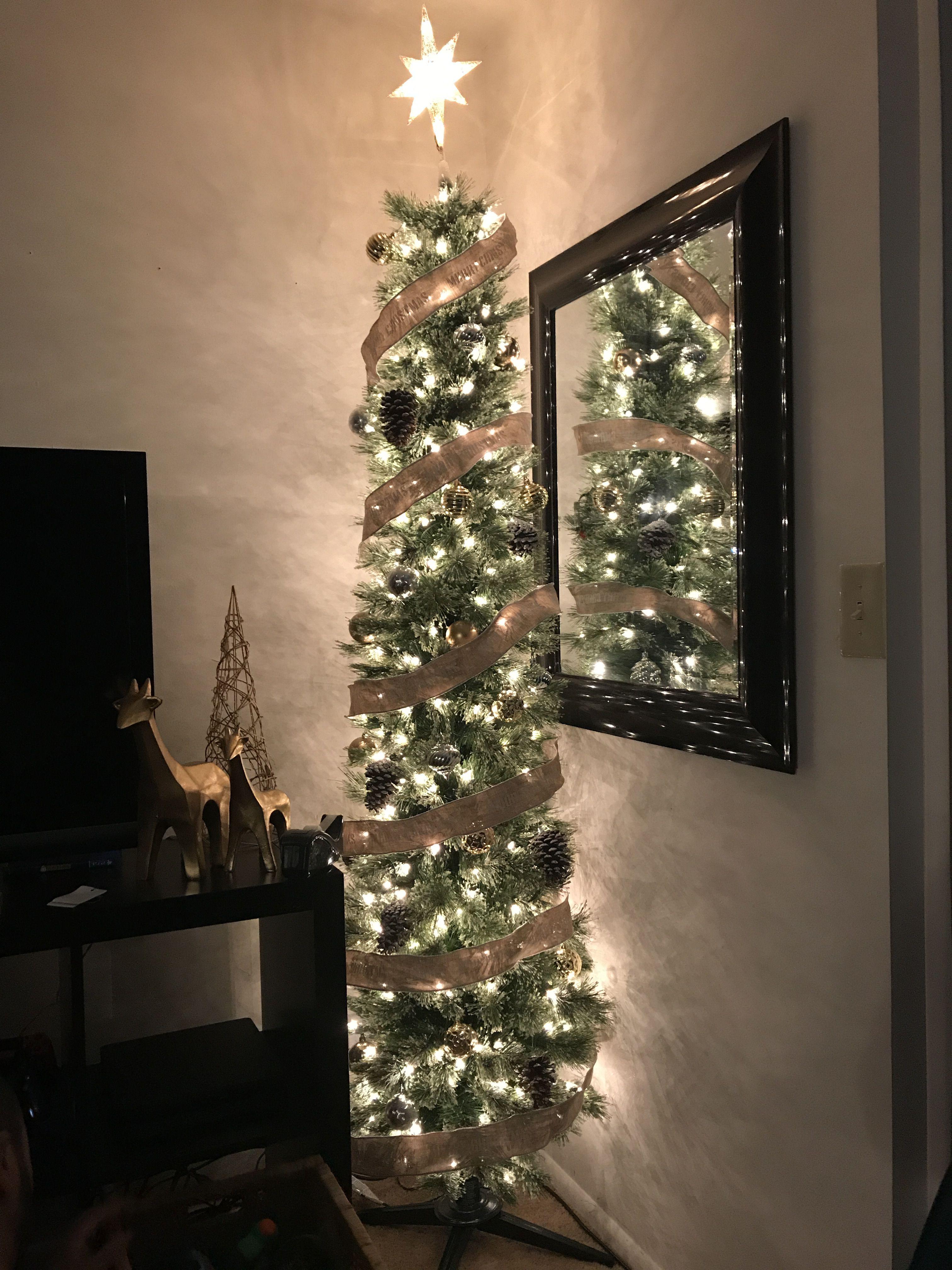Simple Slim Christmas Tree