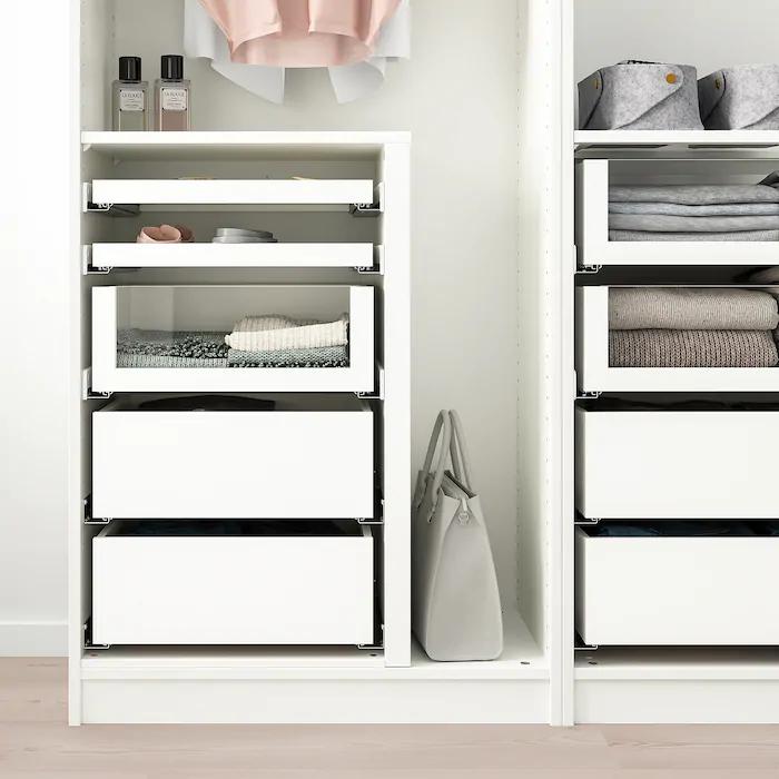KOMPLEMENT Divider for frames white 75100x35 cm Ikea