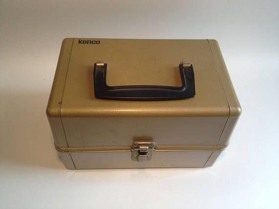 Vintage Kenco Super 8 Reel Metal Carrying Storage Case