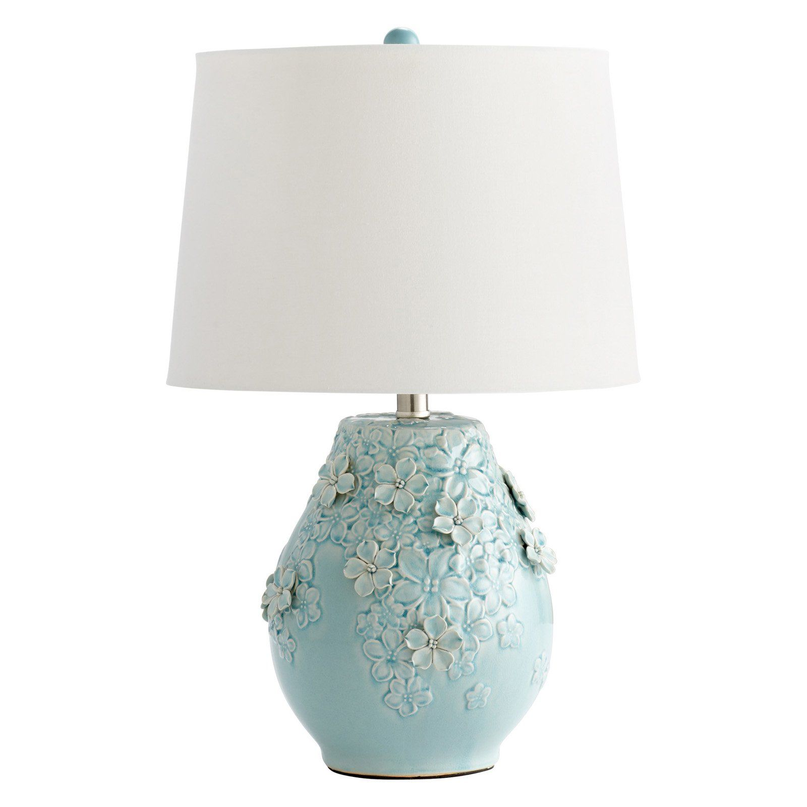 Cyan Design Eire Table Lamp Blue | Table lamp, Vase table