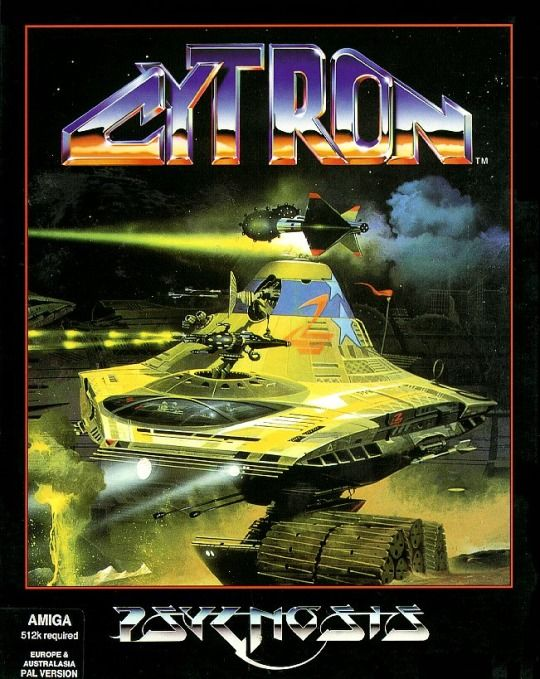 90s video game cover for Cytron