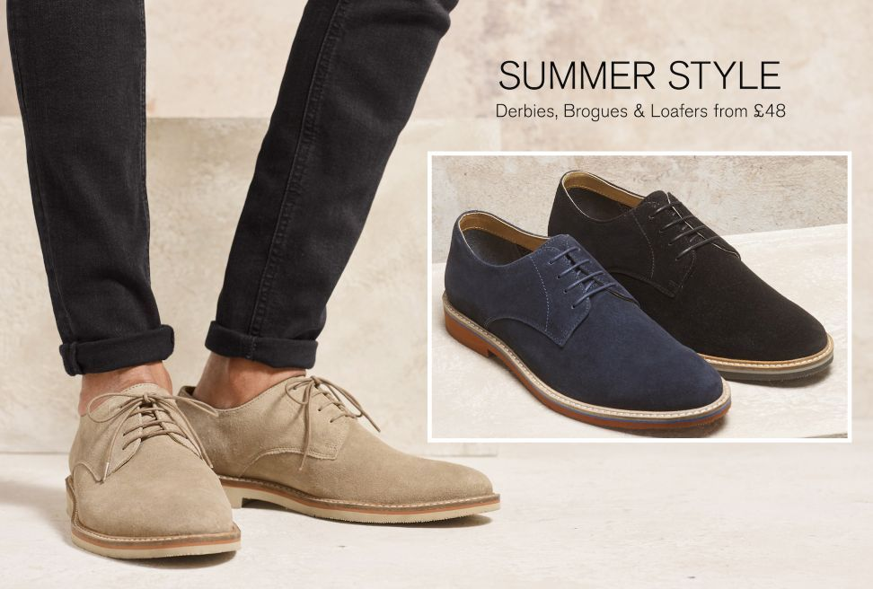 Smart Casual Shoes | Mens derby shoes