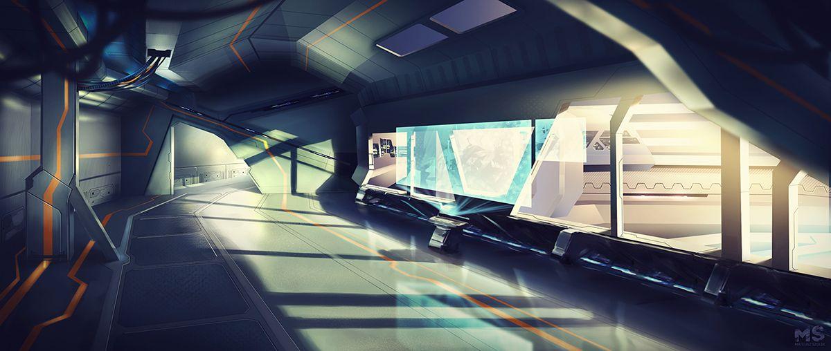 Magnetar game concept art on Behance