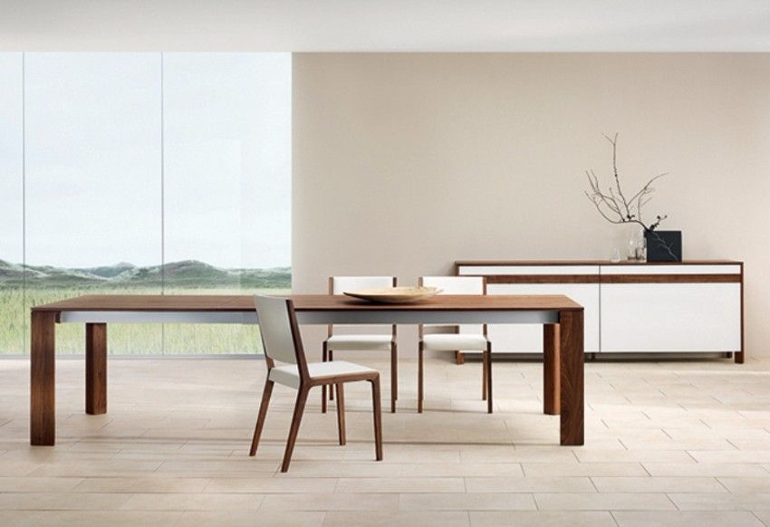 Contemporary Dining Room Furniture Sets Fascinating Striking Wooden Dining Tables To Charm The Dining Area  Wooden Inspiration Design
