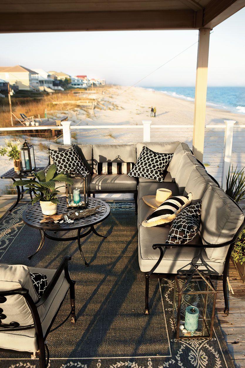Ballard Designsu0027 Amalfi Outdoor Furniture