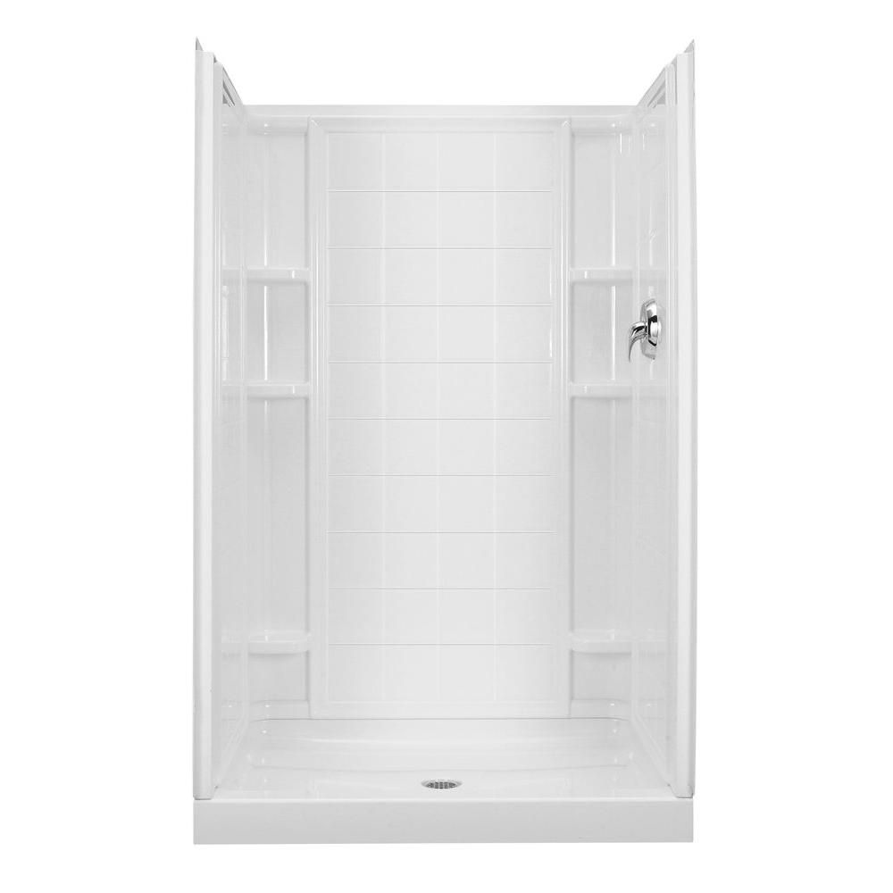 Shower With Images Shower Stall Shower Units Bathroom