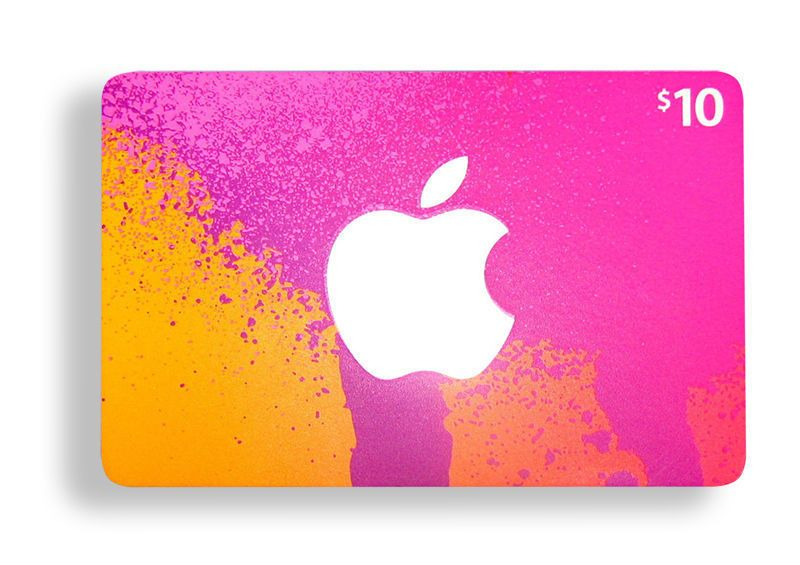 10 apple itunes gift card free shipping in usa itunes