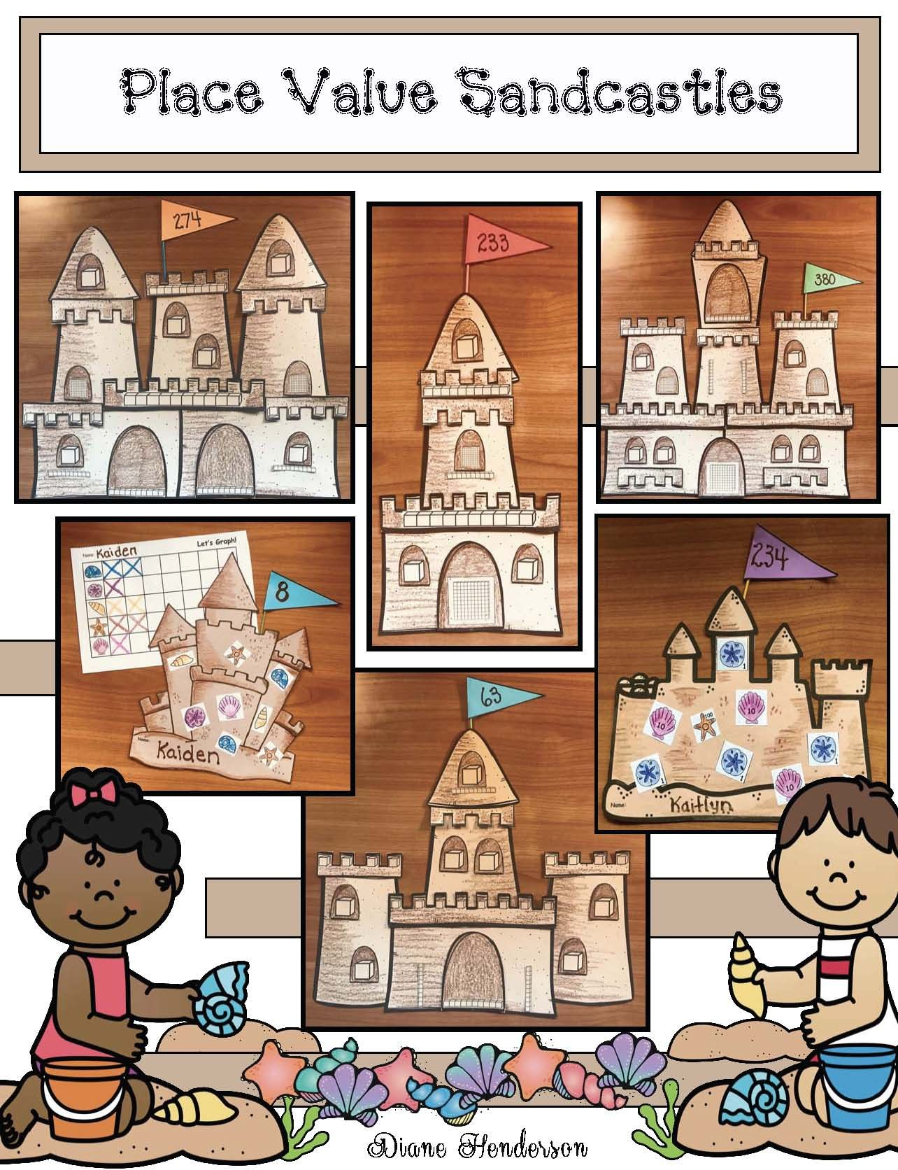 Math Fun With A Sandcastle