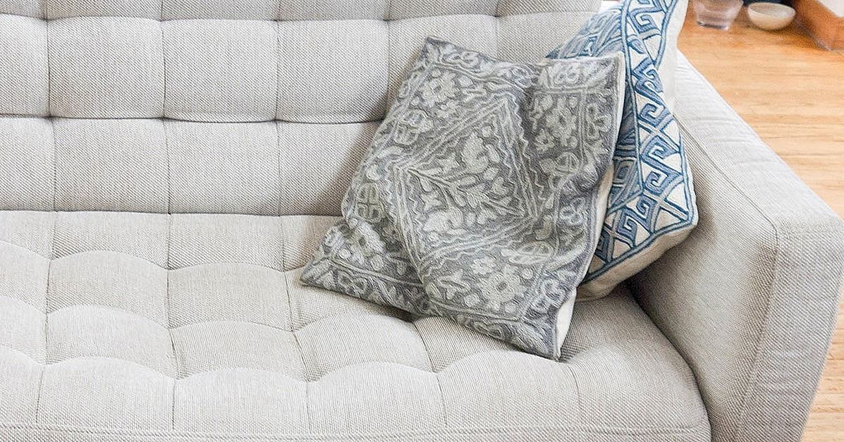 DeepClean Your NaturalFabric Couch For Better Snuggling