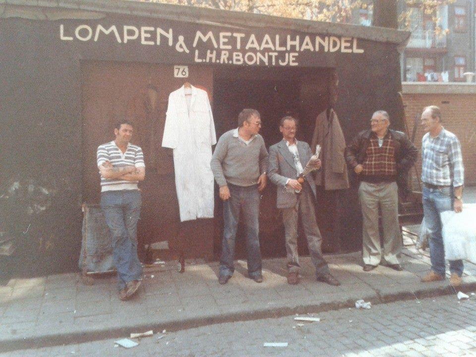 Rubroekstraat - Crooswijk , My dad is on this picture ..