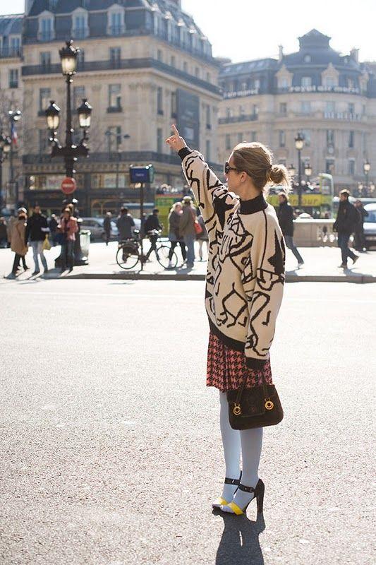 Vanessa Jackman: Paris Fashion Week AW 2011.Stevie
