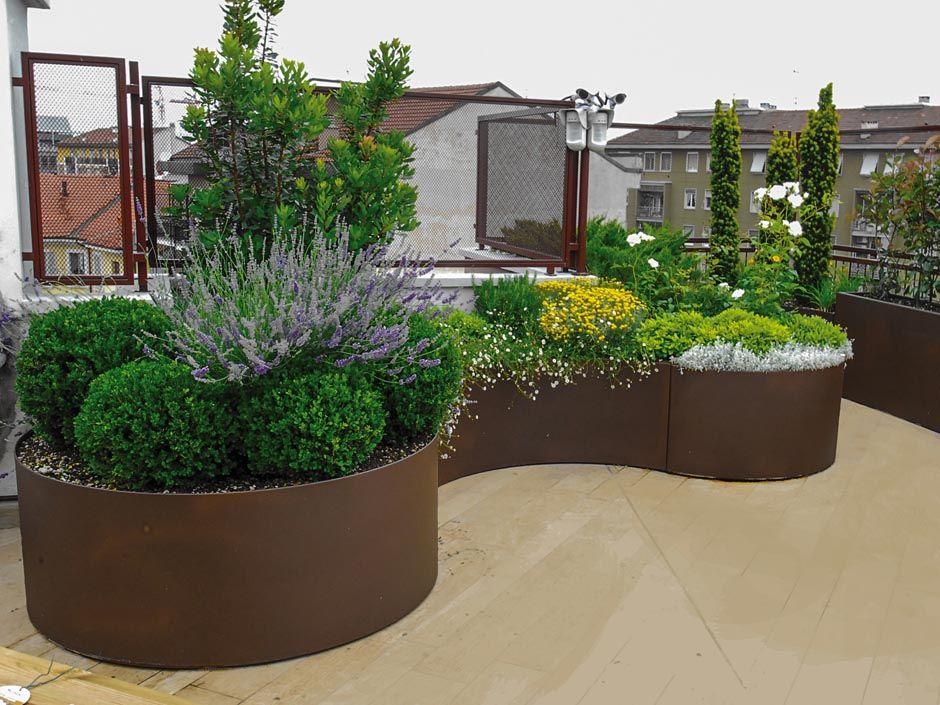 Risultati immagini per terrazzo giardino progettazione