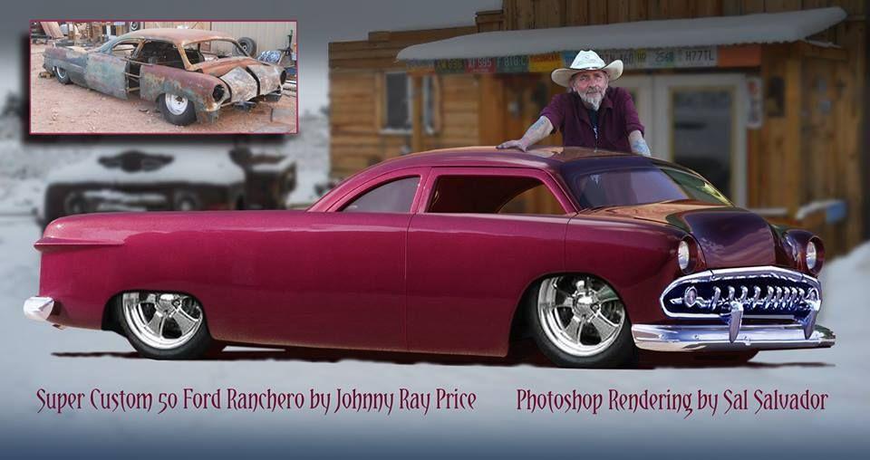 canadian auto network pin  1950 ford ranchero custom