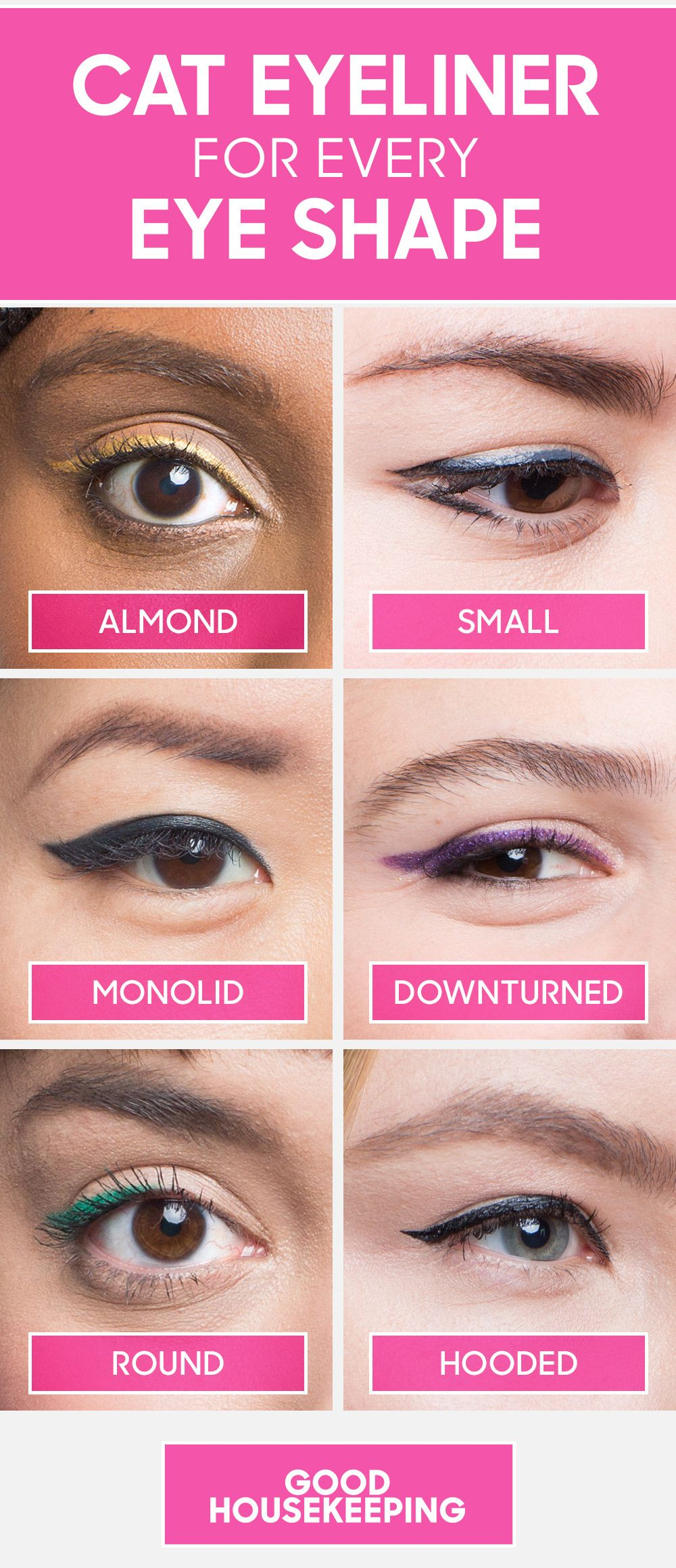 Winged Eyeliner Application Is Different For Every Eye Shape