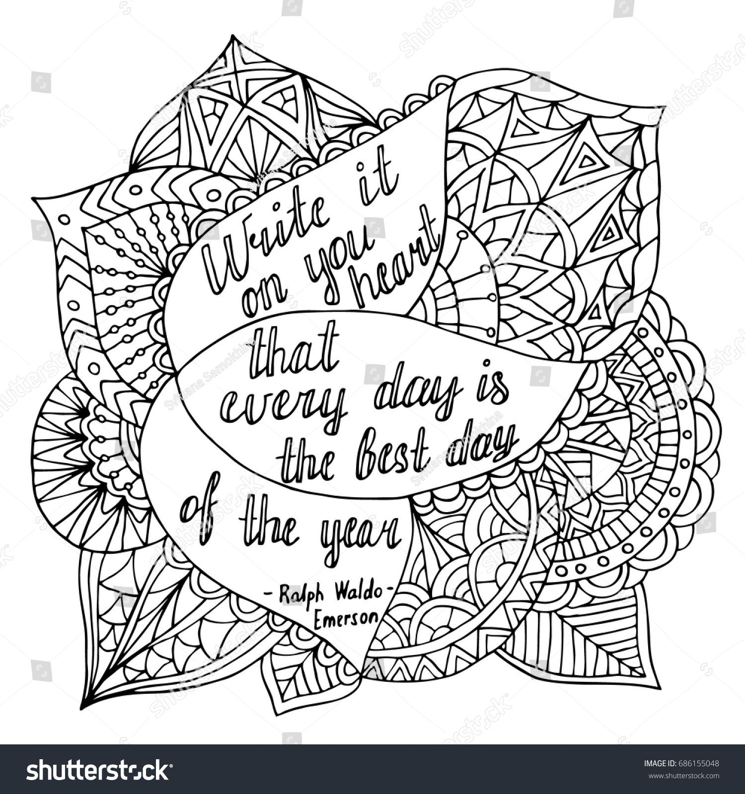 Motivational Coloring Pages | Quote coloring pages, Love ...