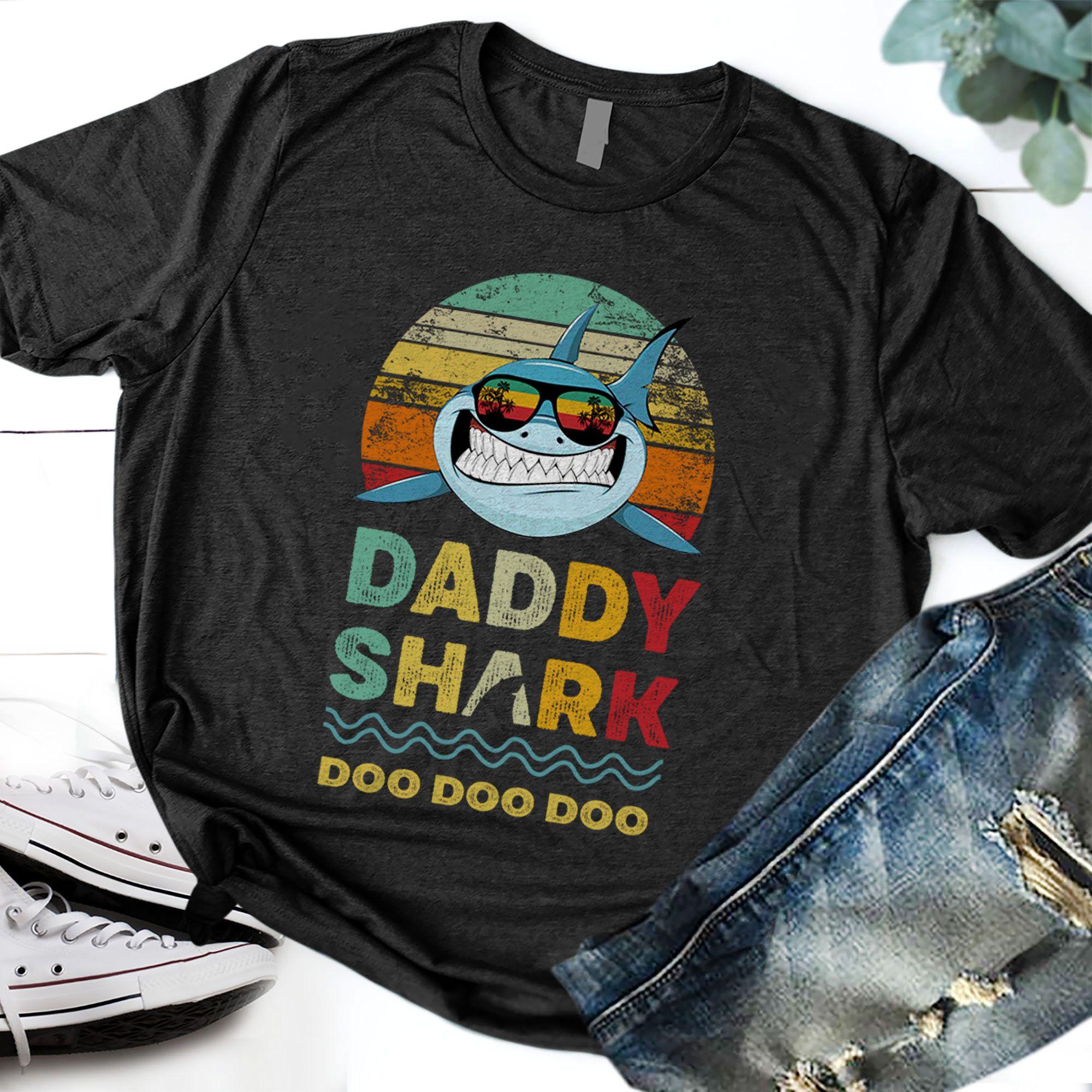 Baby shark first birthday boys first birthday baby shirt