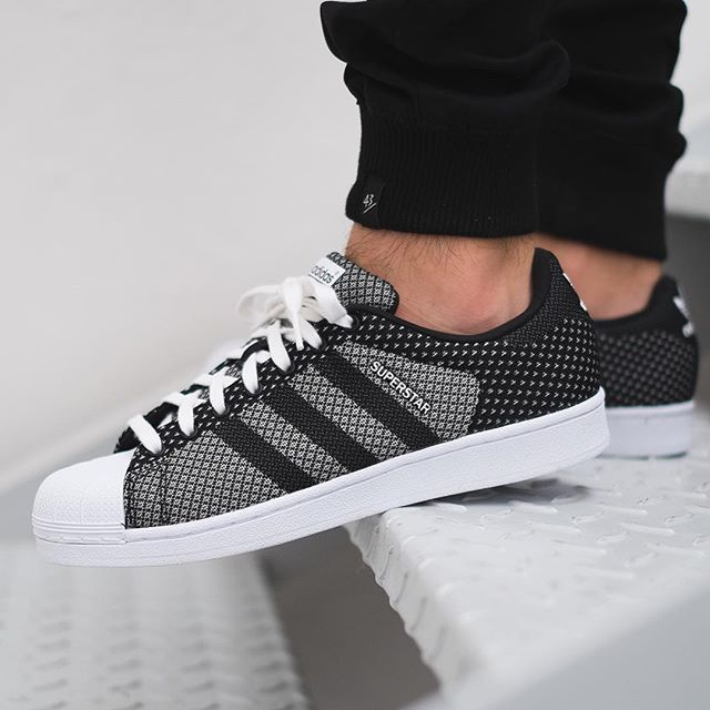 separation shoes fec8a b5007 Adidas Superstar Weave Clear Grey