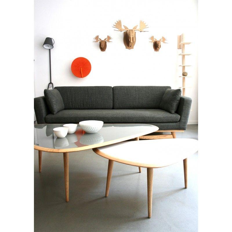 Canapé Red Edition Fifties gris anthracite chiné | deco | Pinterest ...